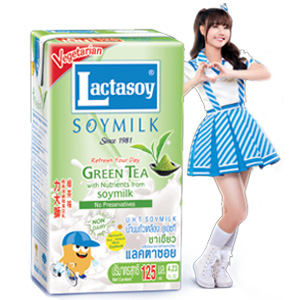 Lactasoy BNK Green Tea